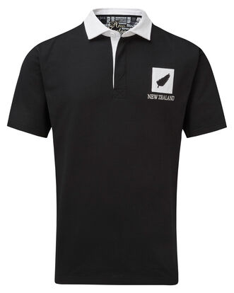 Short Sleeve New Zealand Classic Rugby Shirt