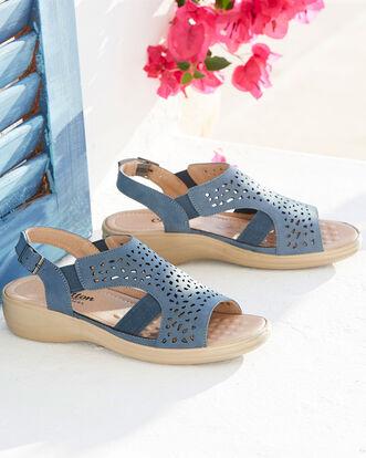 Flexisole Cutwork Sandals
