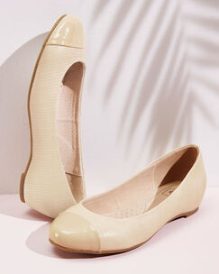 Covered Heel Ballerinas