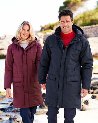 Fleece Lined Coat