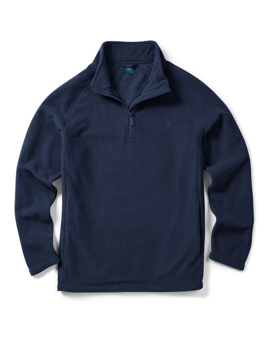 Fleece Half Zip Top