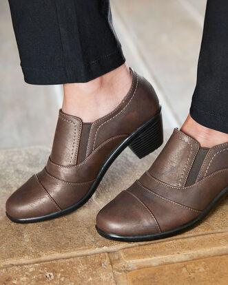 Pleat Detail Trouser Shoes