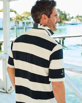 Guinness® Short Sleeve Stripe Rugby Shirt