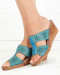 Flexi Wedge Mules