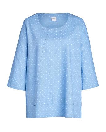 Women's Linen Blend Top