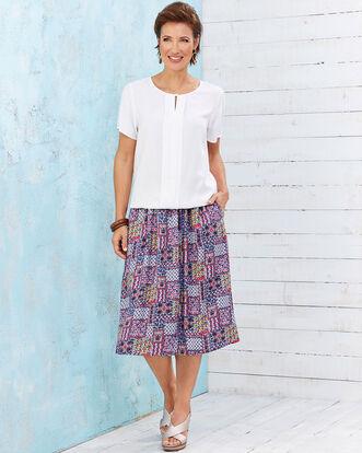 Easywear Print Skirt
