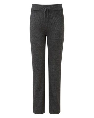 Knitted Rib Trousers