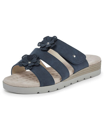 Cushion Support Mule Sandals