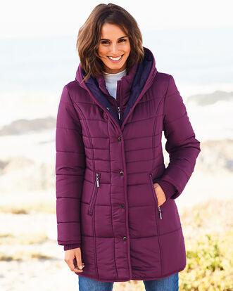 Padded Hooded Coat