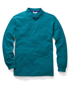 Peacock Long Sleeve Polo Shirt