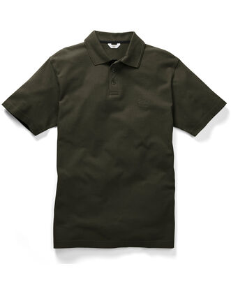 Khaki Short Sleeve Polo Shirt