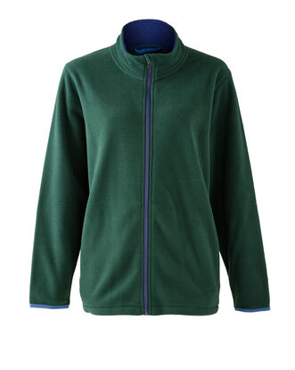 Bonded Contrast Fleece Jacket