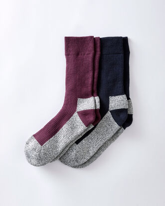 Pack of 2 Cushion Sole Walking Socks