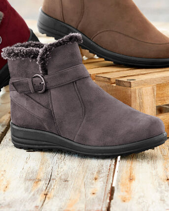 Flexisole Buckle Boots