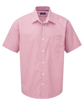Currant Short Sleeve Wrinkle Free Shirt