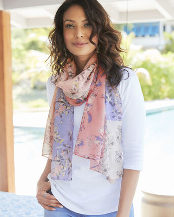 Patchwork Floral Scarf