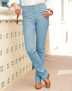 Side Elasticated Waist Jeans