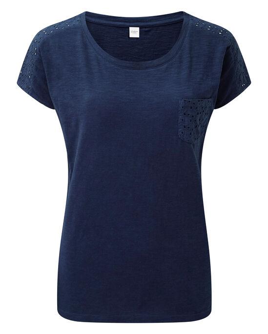 Broderie Detail T-shirt
