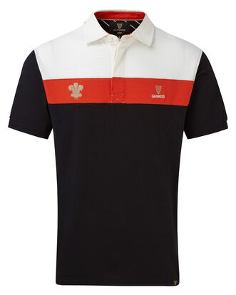 Guinness Short Sleeve Wales Rugby Shirt