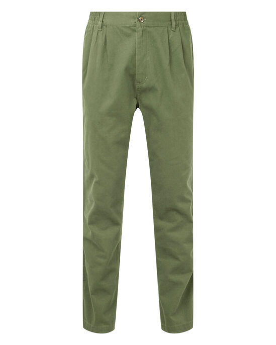 Pleat Front Comfort Trousers