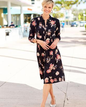 Floral Frockstar Button-through Dress
