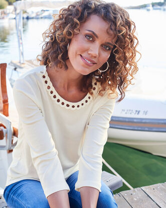 Cornelli Trim Plain Top
