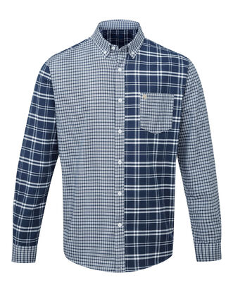 England Rose Long Sleeve Oxford Check Shirt