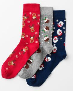 Pack of 3 All-over Christmas Socks