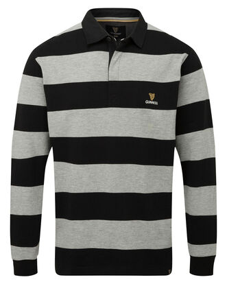 Guinness® Hooped Stripe Rugby Shirt