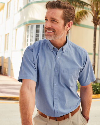 Twilight Short Sleeve Classic Oxford Shirt