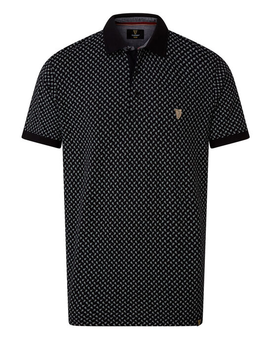 Guinness Print Polo Shirt