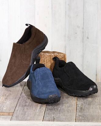 Comfort Fit Suede Slip-ons