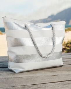 Stripe Beach Bag
