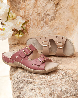 Comfort Adjustable Mules