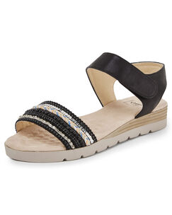 Cushion Support Embellished Sandals