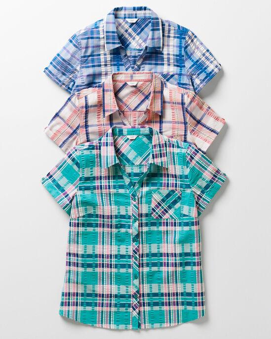 Women's Seersucker Shirt