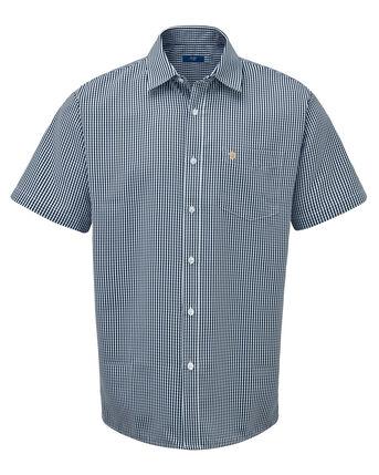 England Rose Short Sleeve Soft Touch Gingham Shirt