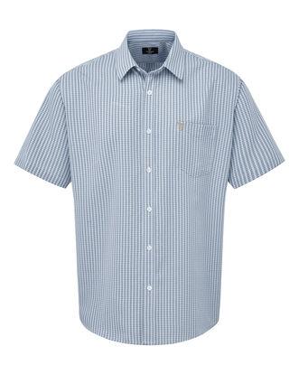 Guinness Short Sleeve Gingham Soft Touch Shirt