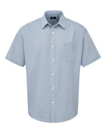 Guinness® Short Sleeve Gingham Soft Touch Shirt