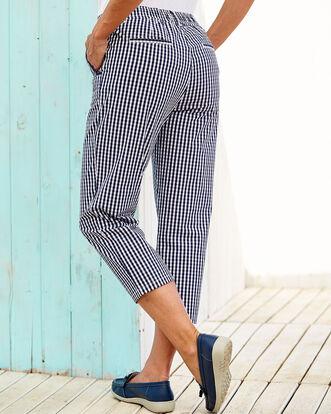 Cotton Stretch Crop Jeans