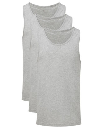 Pack of 3 Sleeveless Vests