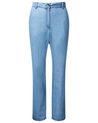 Chambray Trouser