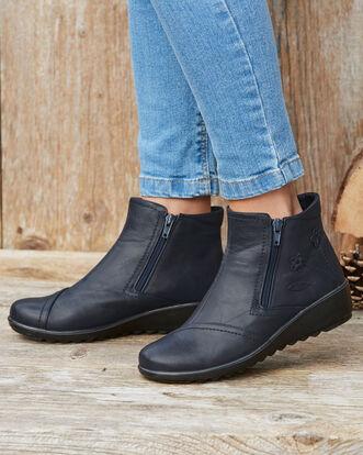 Flexisole Flower Detail Boots