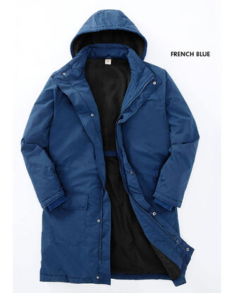 Long Fleece Lined Coat