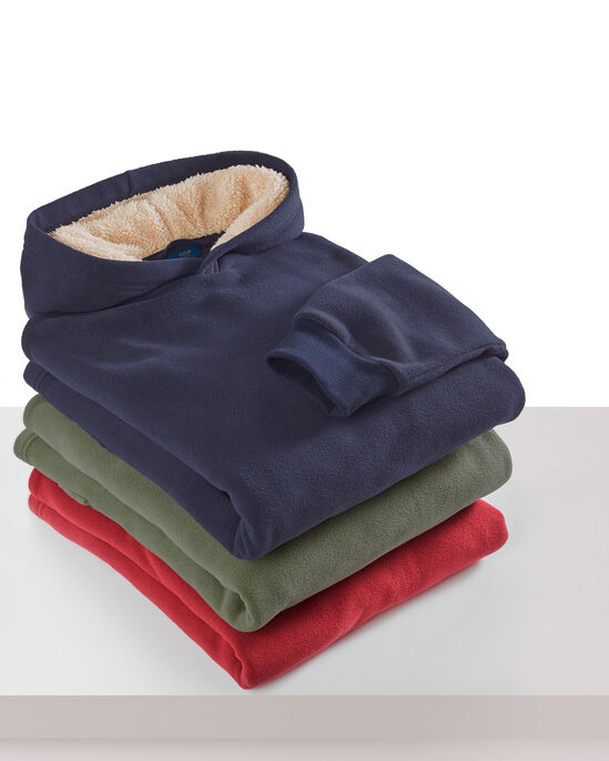 Luxury Hooded Fleece Top