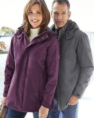 Showerproof Fleece Lined Jacket