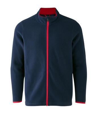 Bonded Contrast Fleece Jacket
