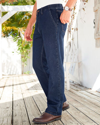 Side Elasticated Jeans