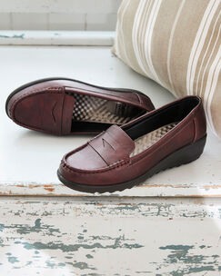 Cushion Support Loafers