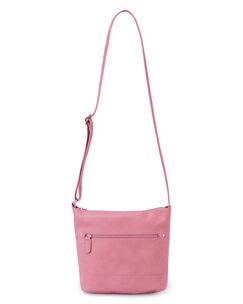 Zip Front Shoulder Bag
